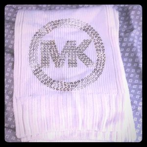Michael Kors cream scarf